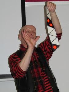 The triflexagon template